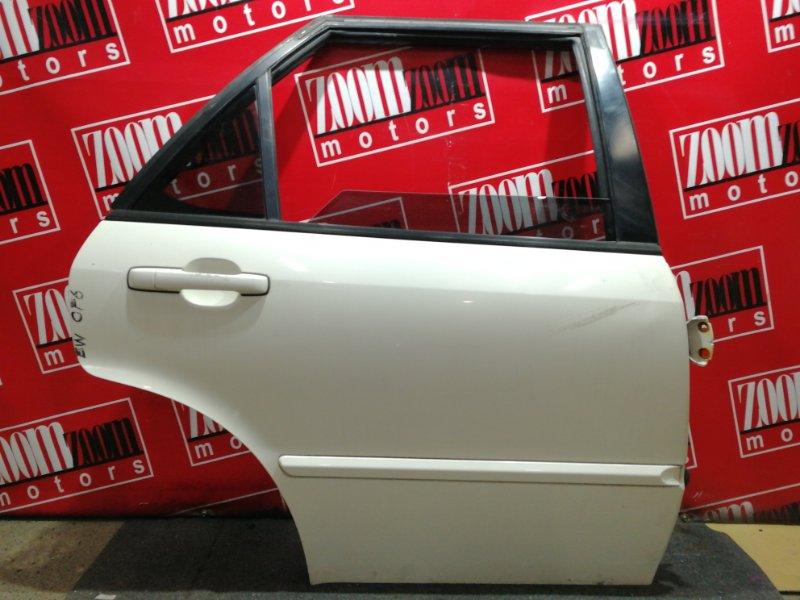 Дверь боковая Honda Accord Wagon CF6 F23A 1997 задняя правая белый перламутр