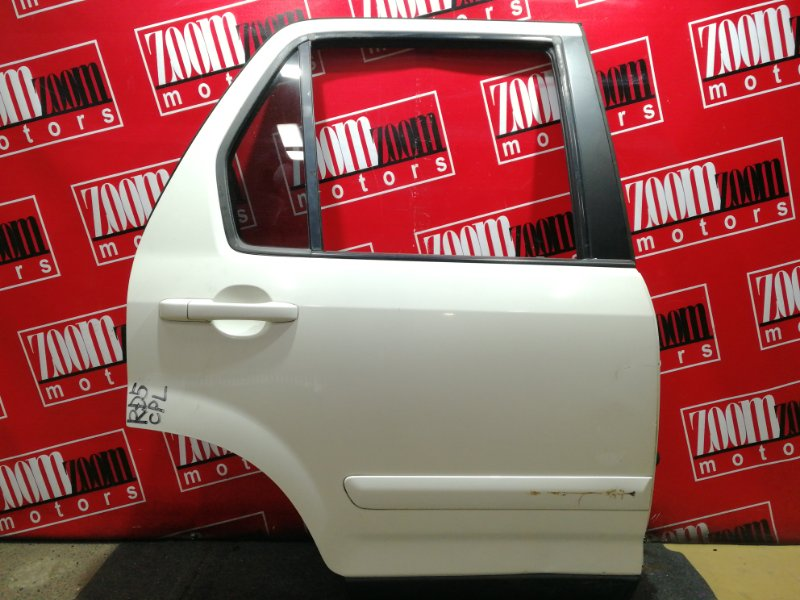 Дверь боковая Honda Cr-V RD5 K20A 2001 задняя правая белый перламутр