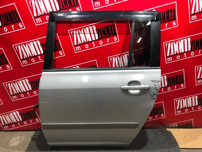 Дверь боковая Toyota Probox NCP58G 1NZ-FE 2002 задняя левая серебро