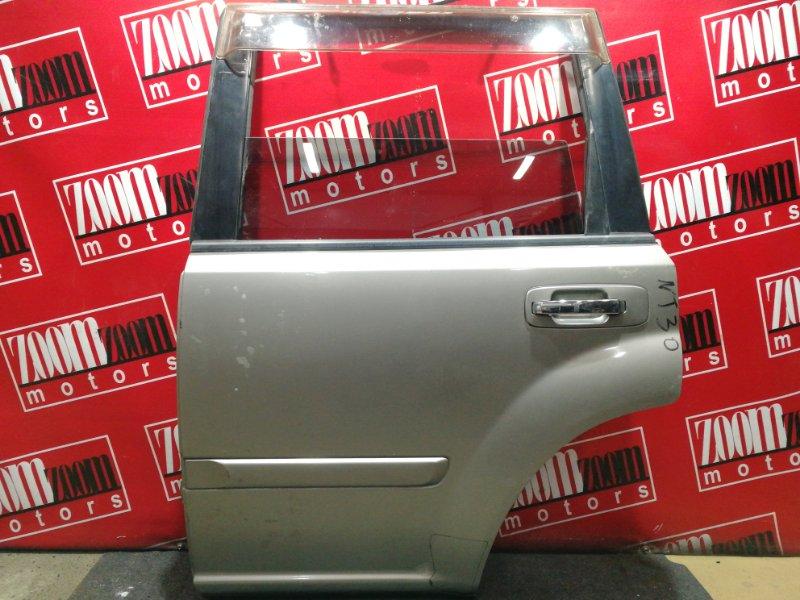 Дверь боковая Nissan X-Trail NT30 QR20DE 2000 задняя левая серый