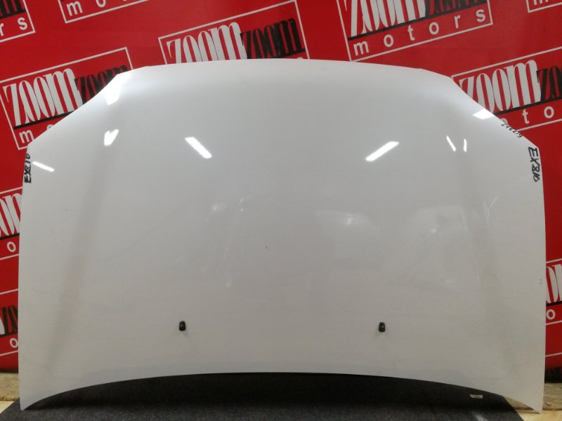 Капот Toyota Raum EXZ10 5E-FE 1997 белый перламутр