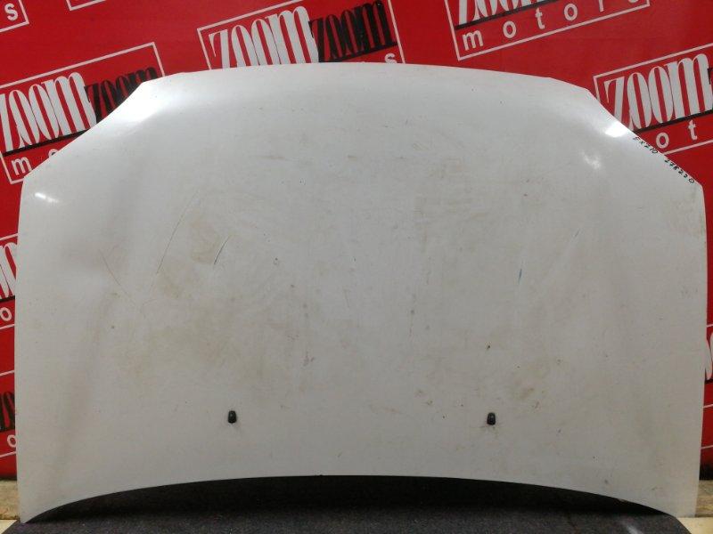 Капот Toyota Raum EXZ10 5E-FE 1997 белый