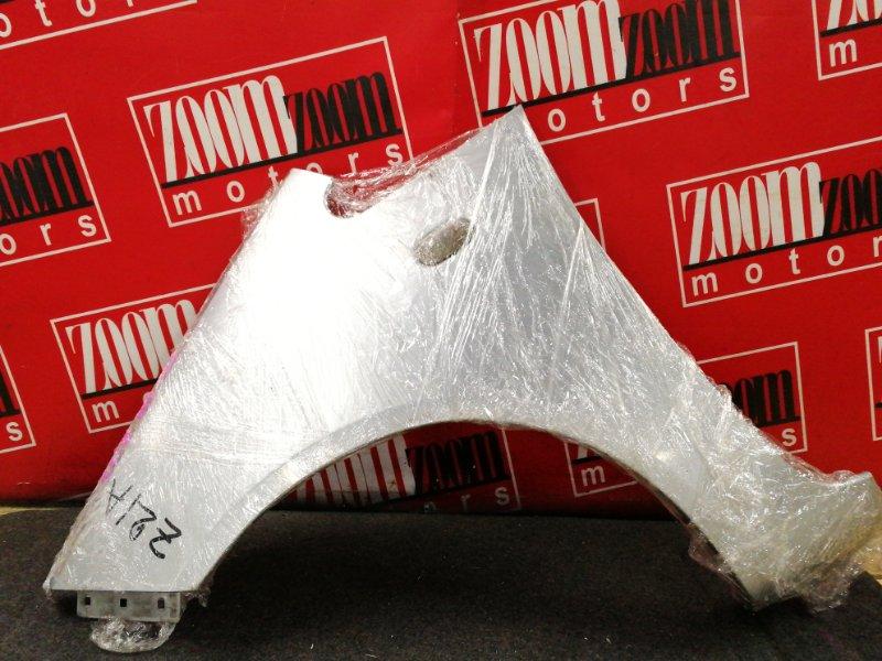 Крыло Mitsubishi Colt Z21A 4A90 2002 переднее левое серебро