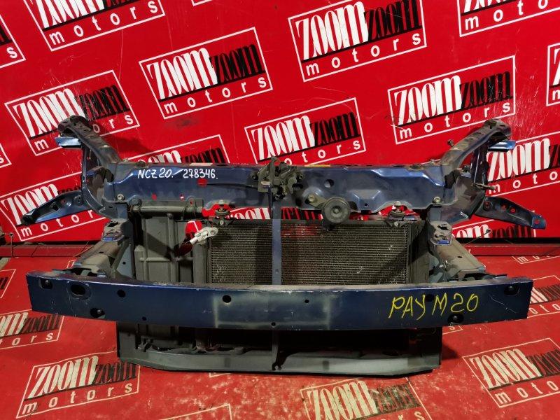 Рамка радиатора Toyota Raum NCZ20 1NZ-FE 2003 передняя синий