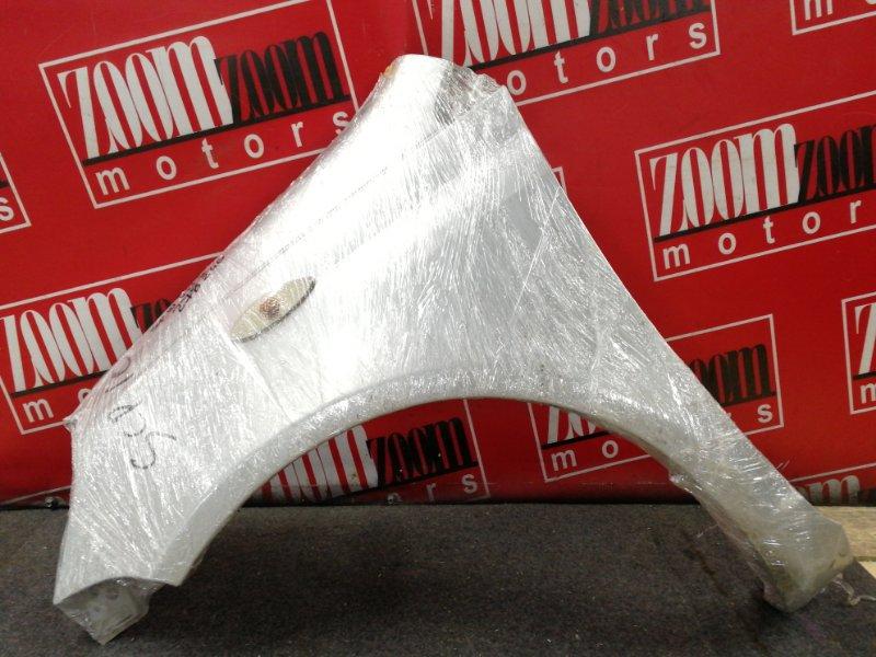 Крыло Toyota Vitz SCP10 1SZ-FE 1999 переднее левое серебро