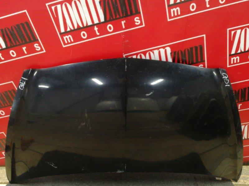 Капот Honda Fit GD1 L13A 2001 черный