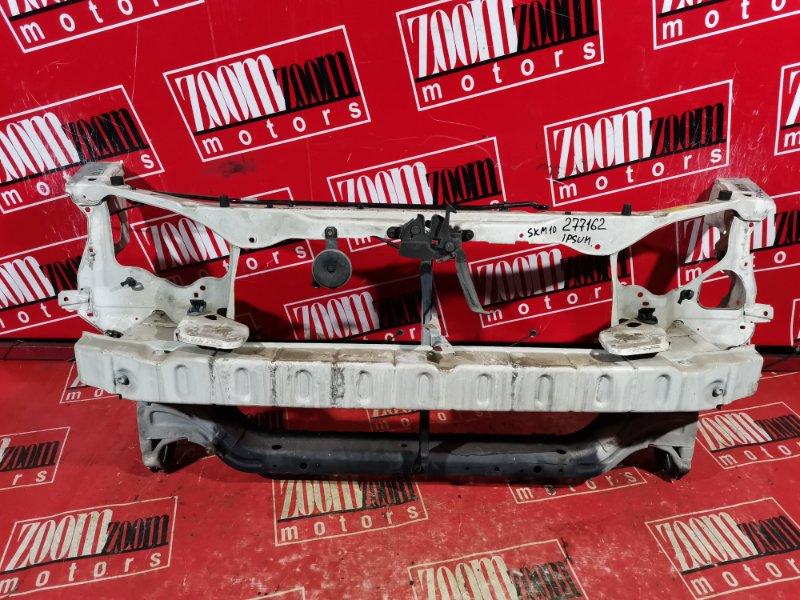 Рамка радиатора Toyota Ipsum SXM10 3S-FE 1996 белый