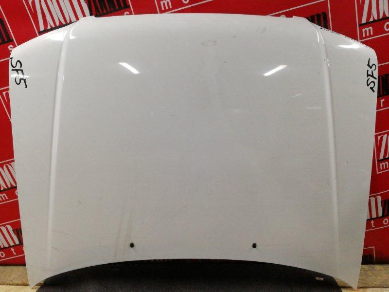 Капот Subaru Forester SF5 EJ20 2000 белый