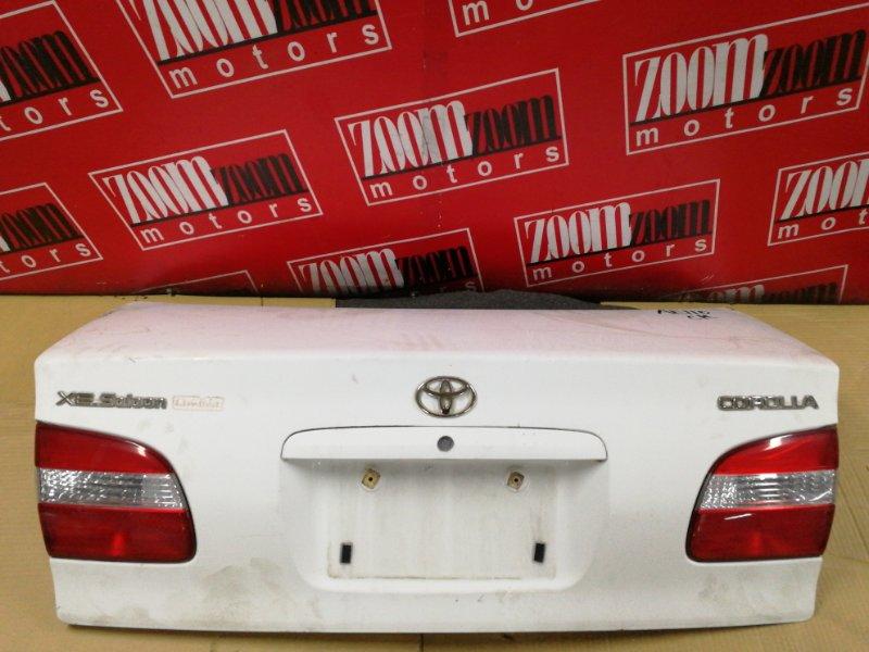 Крышка багажника Toyota Corolla AE110 5A-FE 1997 задняя белый