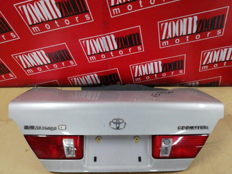 Крышка багажника Toyota Sprinter AE110 5A-FE 1997 задняя серебро