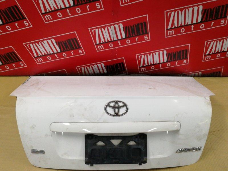 Крышка багажника Toyota Avensis AZT250 1AZ-FSE 2002 задняя белый