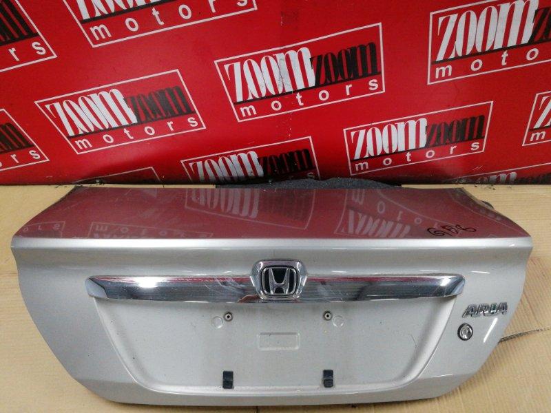 Крышка багажника Honda Fit Aria GD6 L13A 2002 задняя золото