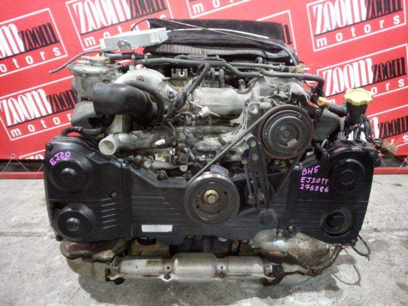 Двигатель Subaru Legacy BH5 EJ20-TT 2001 B429599