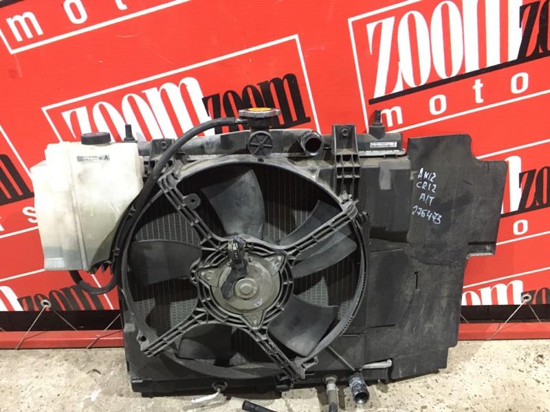 Радиатор двигателя Nissan March AK12 CR12DE 2002 передний
