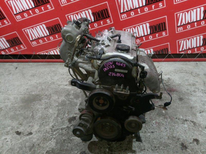 Двигатель Mitsubishi Airtrek CU2W 4G63 2001 DK5163