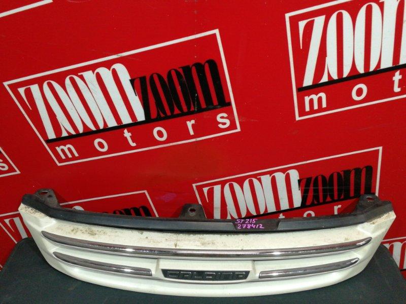 Решетка радиатора Toyota Caldina ST215G 3S-FE 2000 белый перламутр