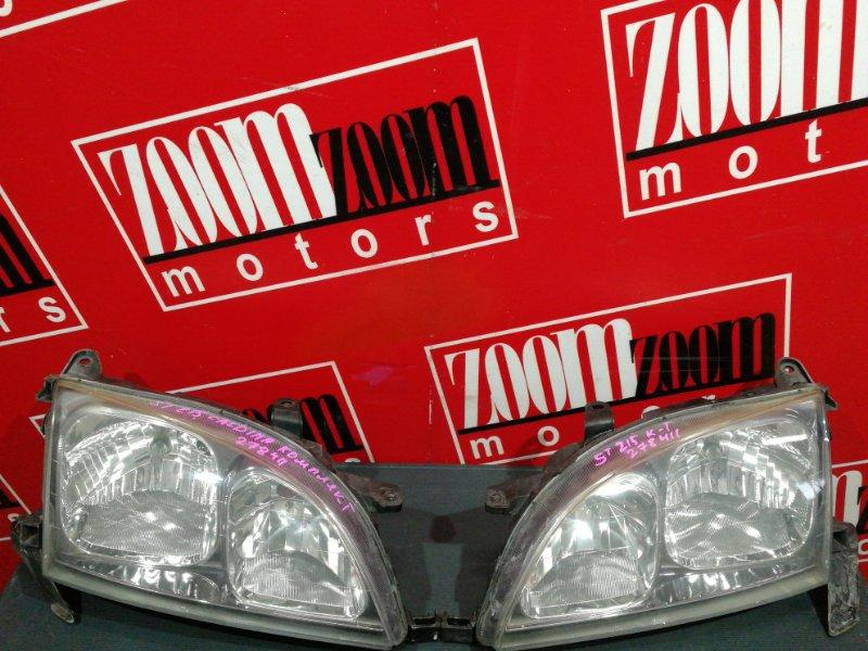 Фара Toyota Caldina ST215G 3S-FE 2000 передняя 21-45