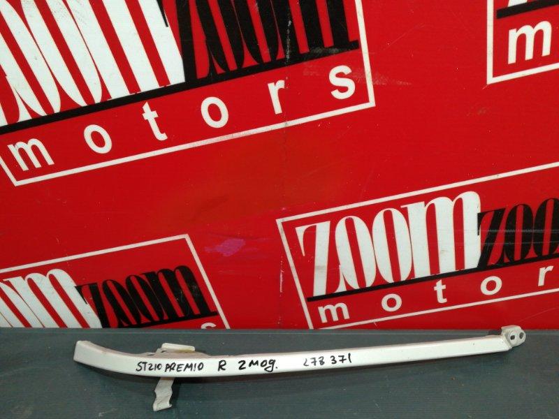 Планка под фару Toyota Corona Premio ST210 3S-FSE 1998 передняя правая серебро