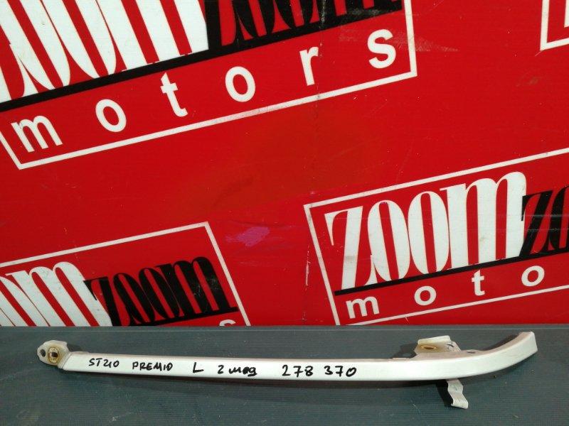 Планка под фару Toyota Corona Premio ST210 3S-FSE 1998 передняя левая серебро