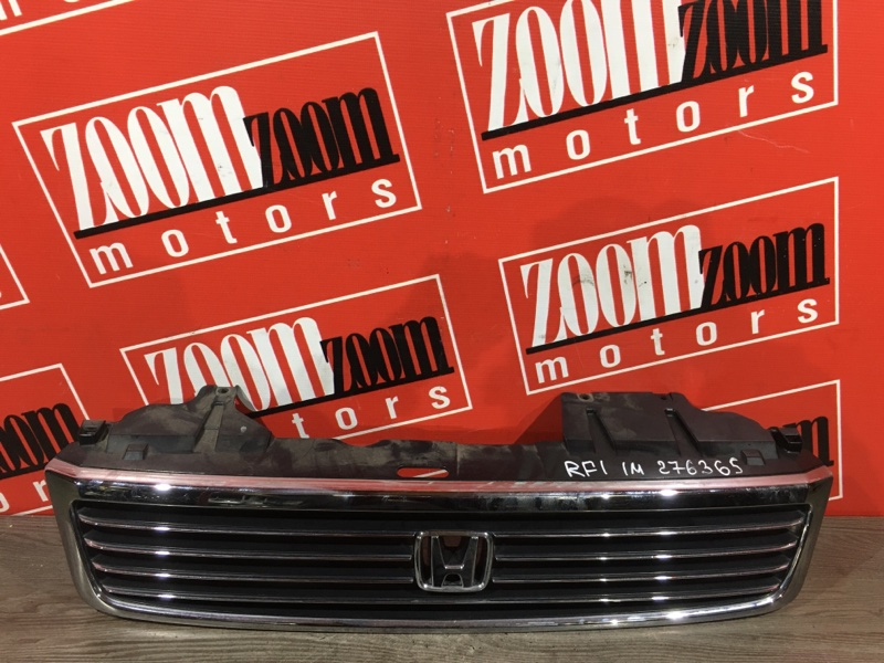 Решетка радиатора Honda Stepwgn RF1 B20B 1996 передняя хром