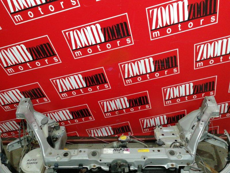 Рамка радиатора Toyota Funcargo NCP20 2NZ-FE 1999 серебро