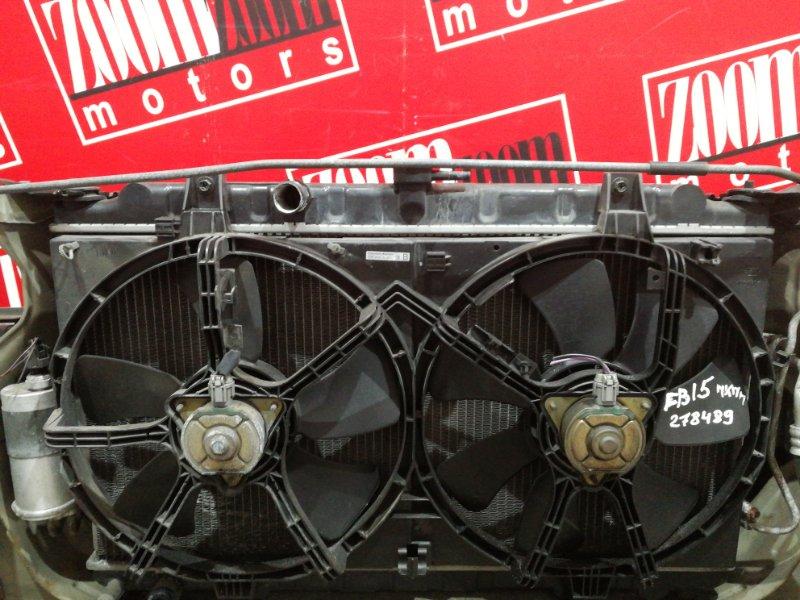 Радиатор двигателя Nissan Sunny FB15 QG15DE 1999