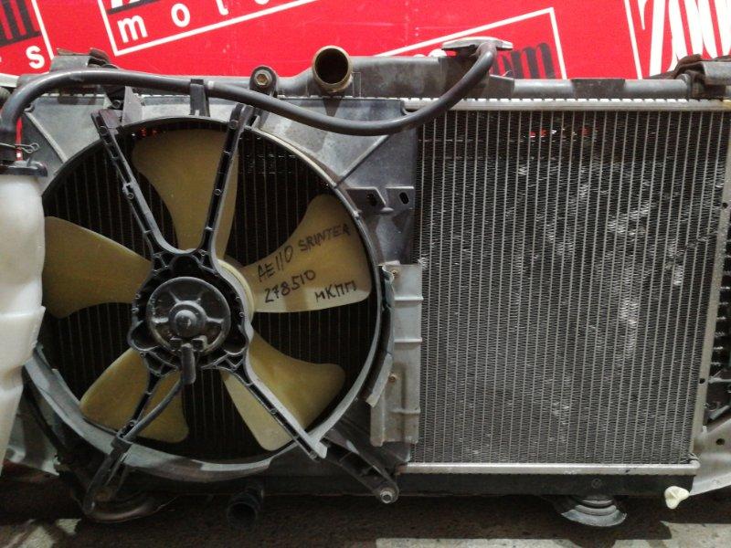 Радиатор двигателя Toyota Sprinter AE110 5A-FE 1997
