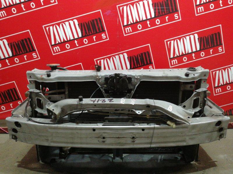 Рамка радиатора Mitsubishi Colt Z21A 4A90 2004 серебро