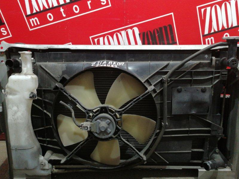 Радиатор двигателя Mitsubishi Colt Z21A 4A90 2004