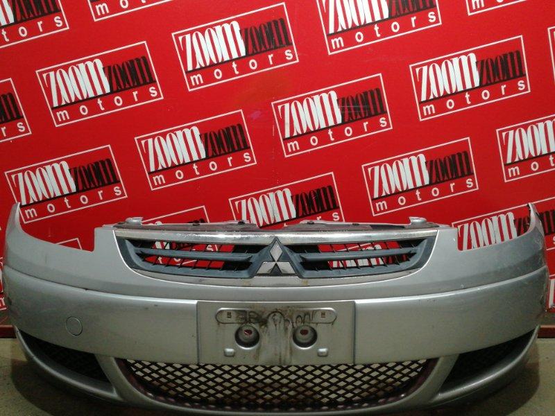 Бампер Mitsubishi Colt Z21A 4A90 2004 передний серебро