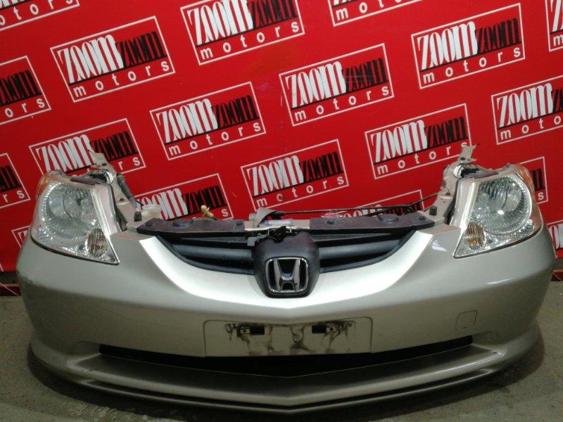 Nose cut Honda Fit Aria GD8 L15A 2002 золото
