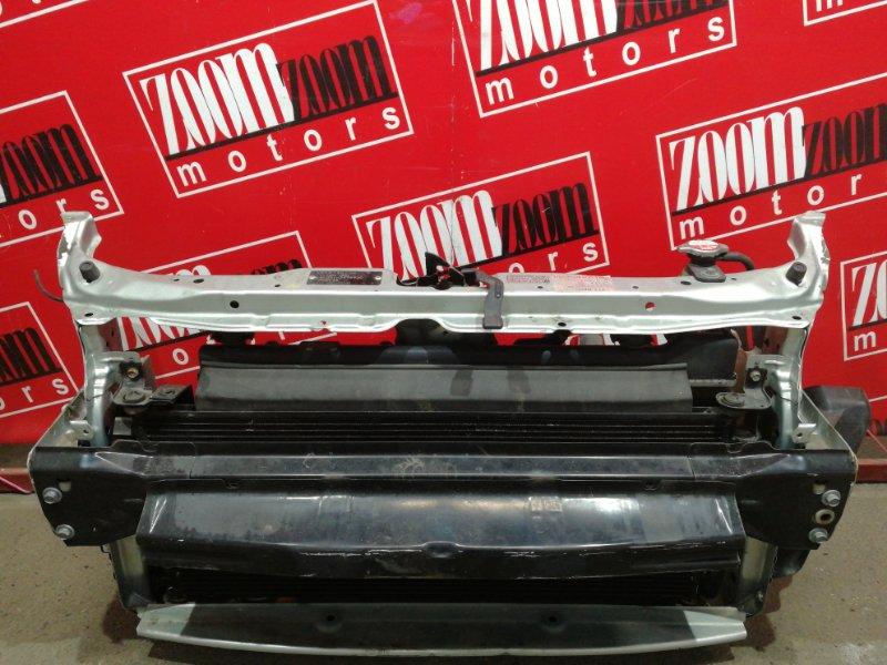 Рамка радиатора Honda Fit GD1 L13A 2004 серебро