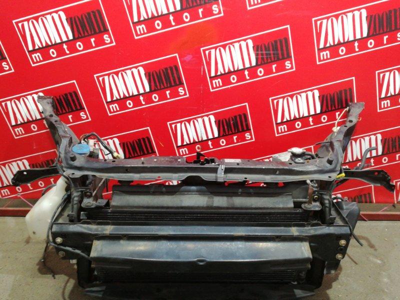 Рамка радиатора Honda Fit GD1 L13A 2004 черный
