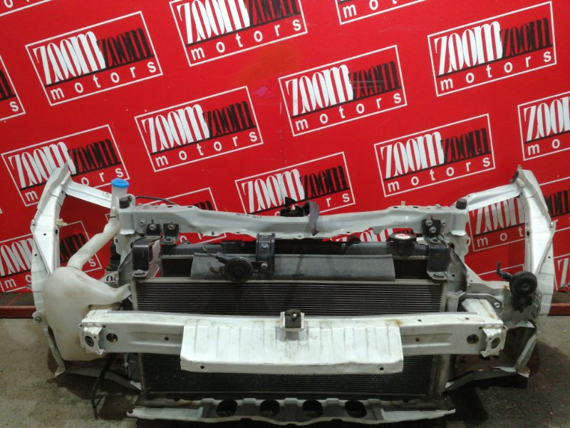 Рамка радиатора Honda Fit GE6 L13A 2007 белый
