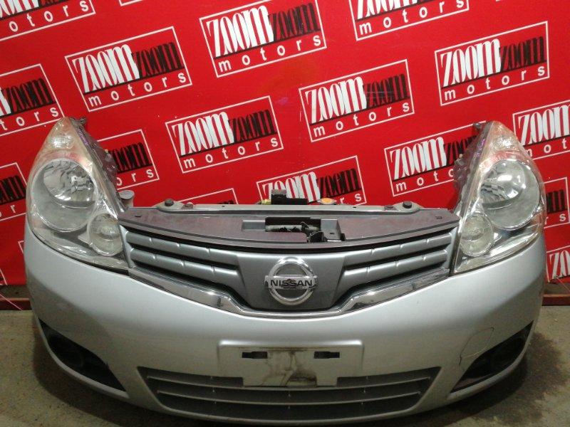Nose cut Nissan Note E11 HR15DE 2008 серебро