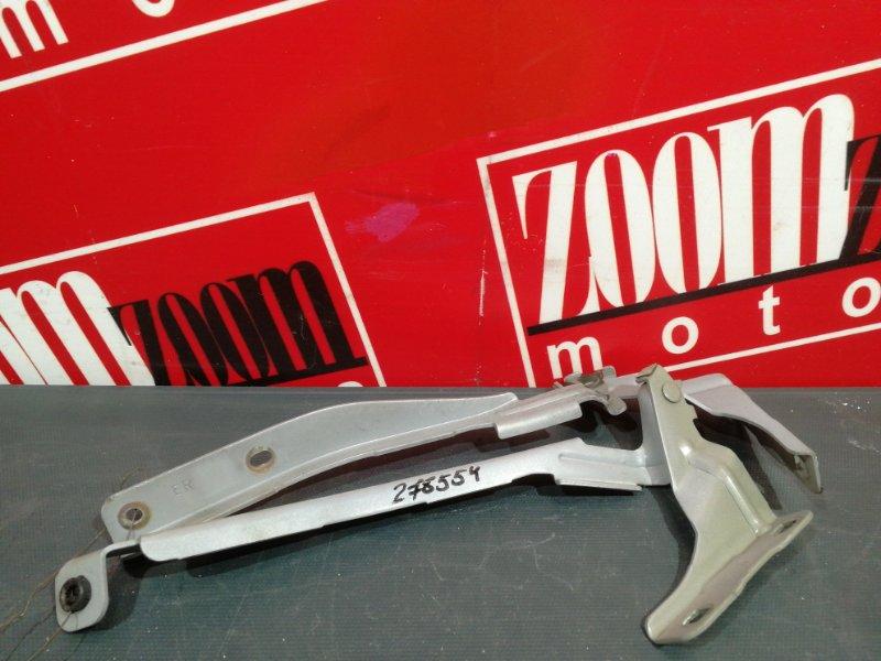 Кронштейн капота Nissan Note E11 HR15DE 2004 серебро