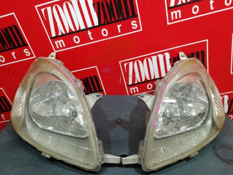 Фара Toyota Vitz SCP10 1SZ-FE 1999 передняя 52-001