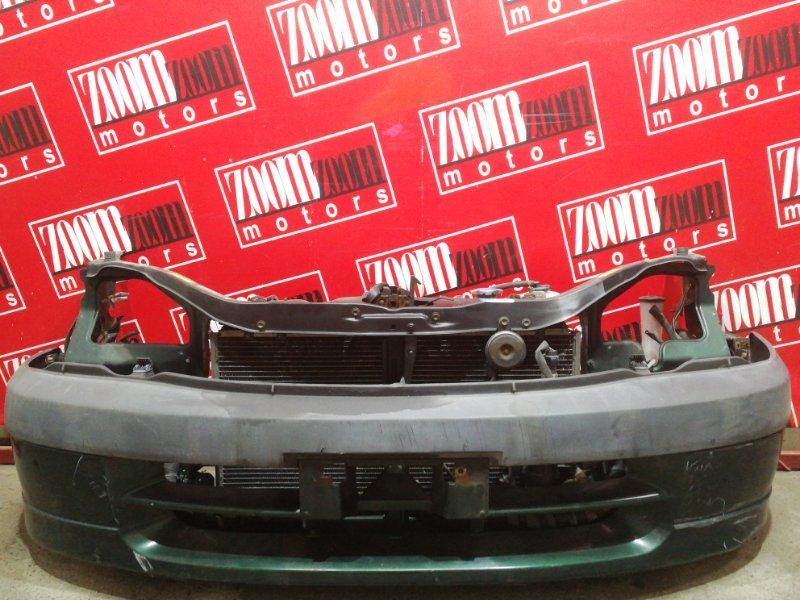 Бампер Toyota Raum EXZ10 5E-FE 1999 передний зеленый