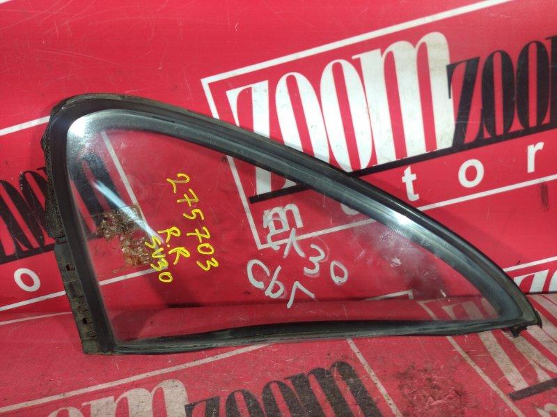 Форточка дверная Toyota Camry SV30 3S-FE 1990 задняя правая