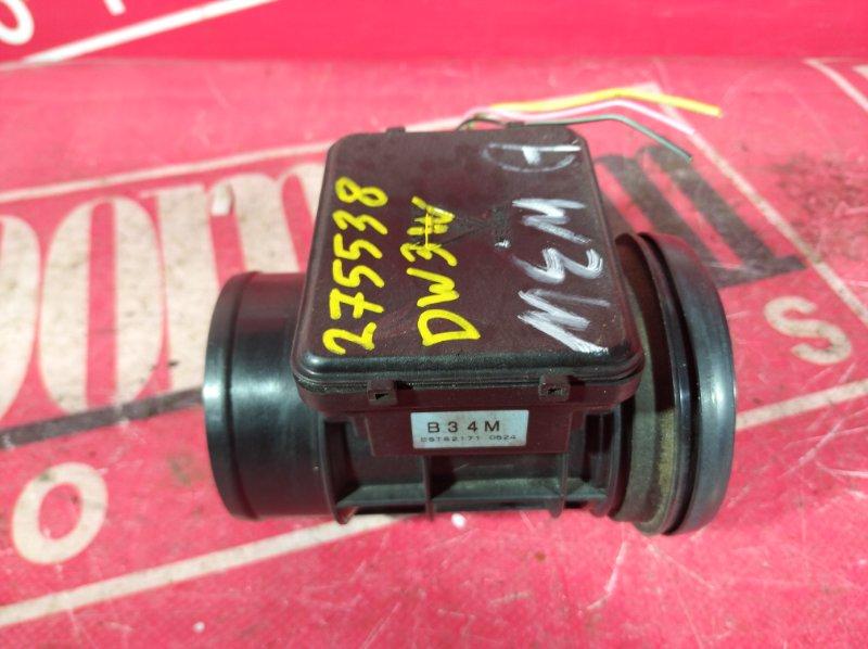Расходомер (датчик расхода воздуха) Mazda Demio DW3W B3-E 1998 B34M