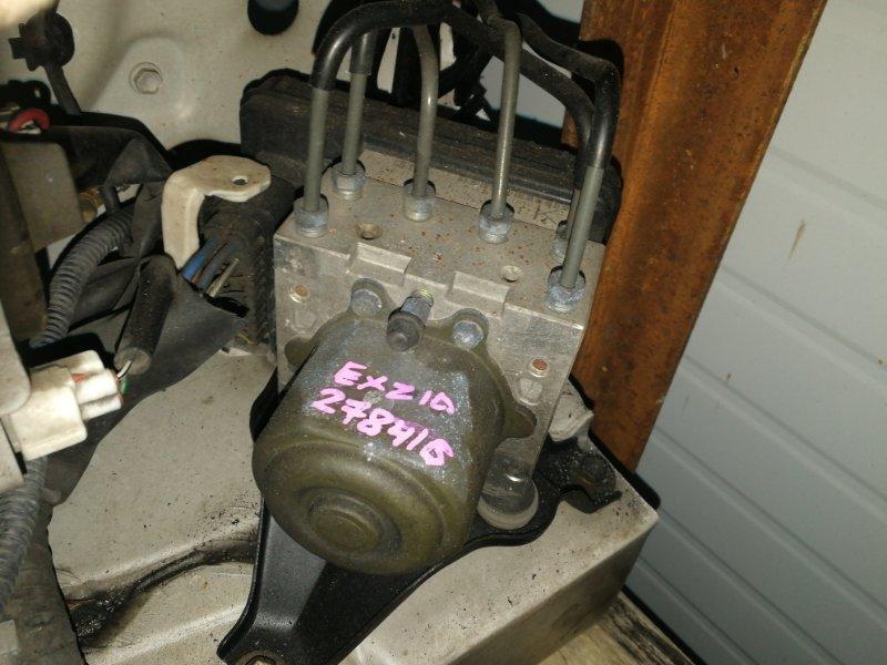 Блок abs (модулятор abs) Toyota Raum EXZ10 5E-FE 1999