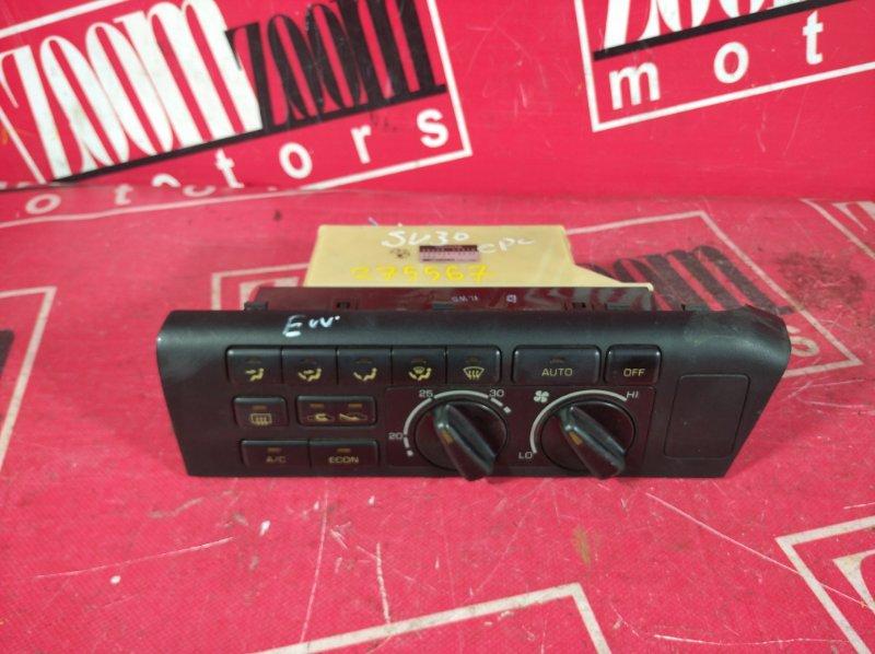Блок управления отоплением и вентиляцией Toyota Camry SV30 3S-FE 1990