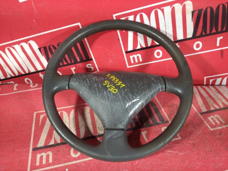 Руль Toyota Camry SV30 3S-FE 1990 серый