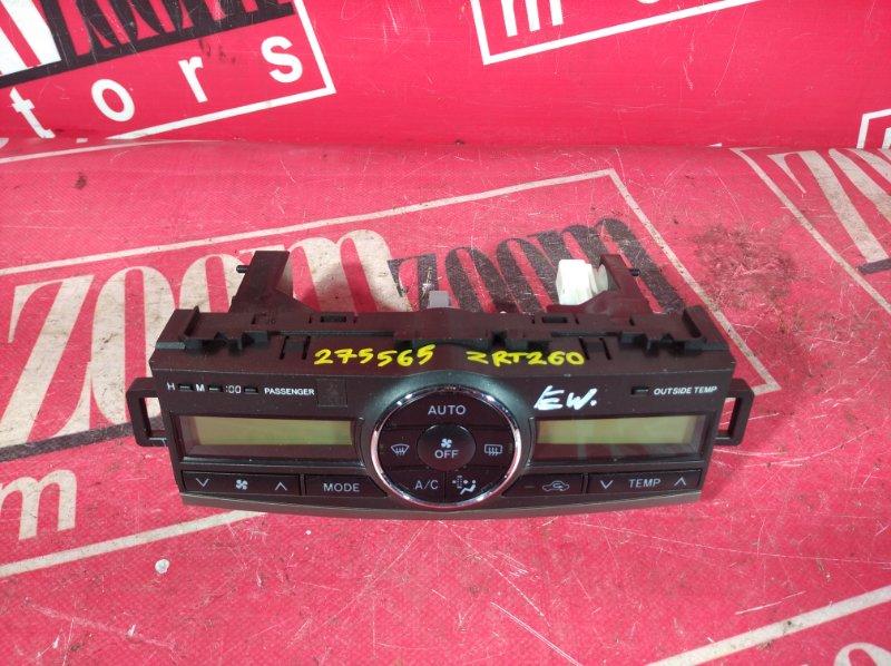 Блок управления отоплением и вентиляцией Toyota Premio ZRT261 3ZR-FAE 2007