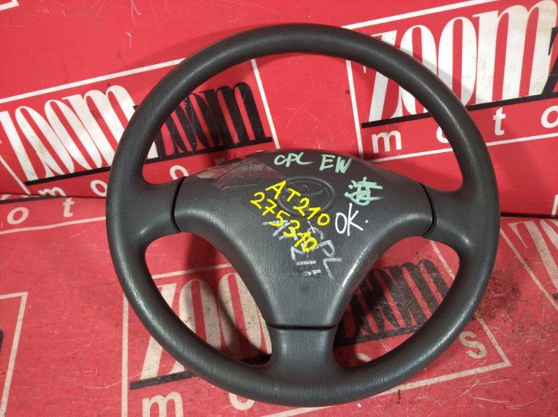 Руль Toyota Corona Premio AT210 4A-FE 2001 черный