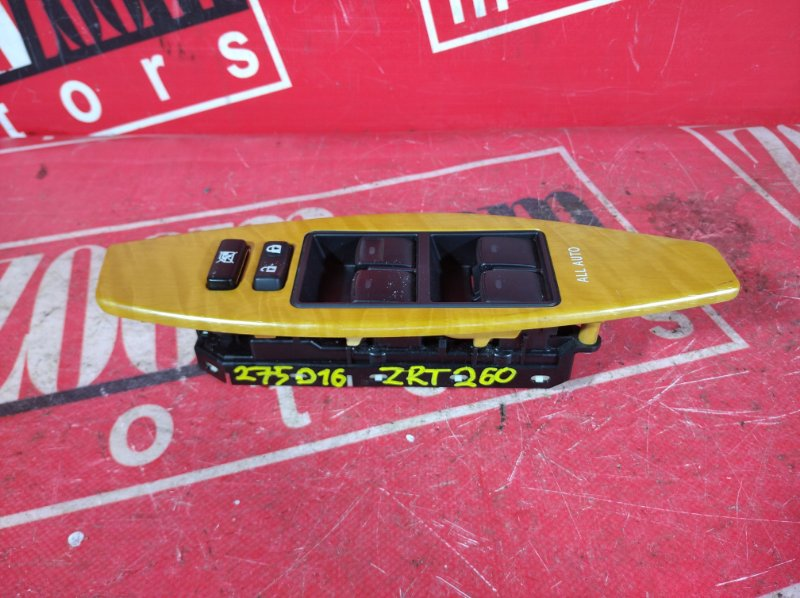 Блок управления стеклоподъемниками Toyota Premio ZRT261 3ZR-FAE 2007 передний правый