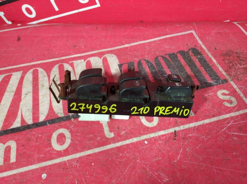 Блок управления стеклоподъемниками Toyota Corona Premio AT210 7A-FE 1998 передний правый