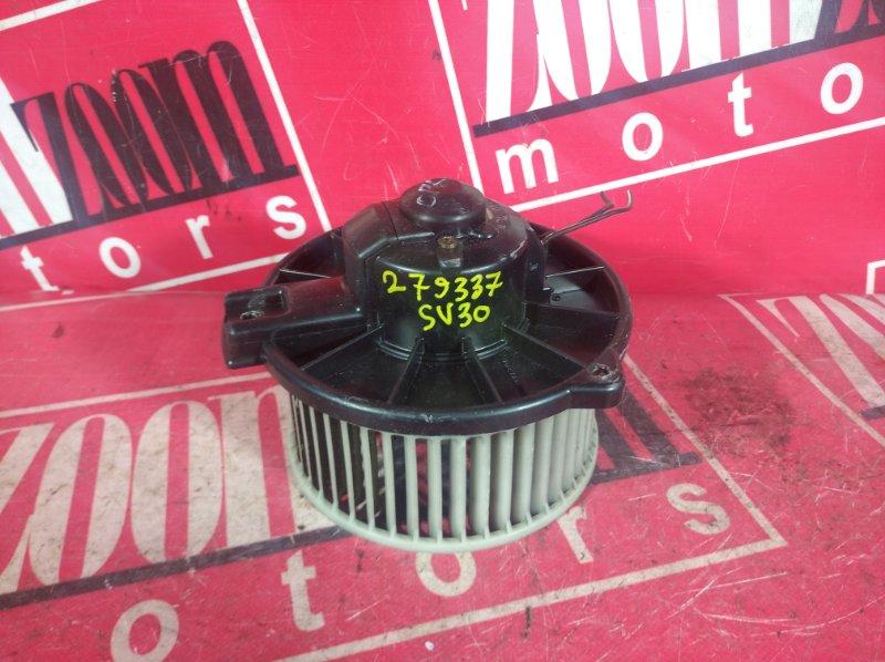 Вентилятор (мотор отопителя) Toyota Camry SV30 3S-FE 1990 передний