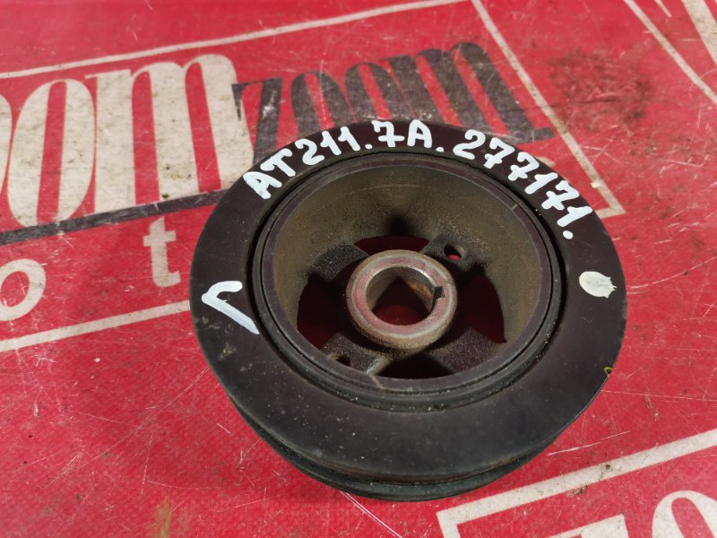 Шкив коленвала Toyota Caldina AT210 7A-FE 1996