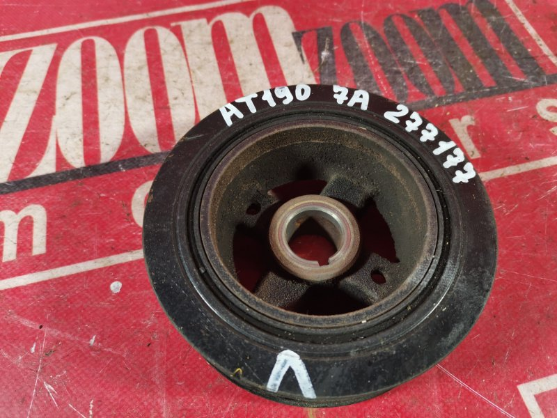 Шкив коленвала Toyota Carina AT190 7A-FE 1992